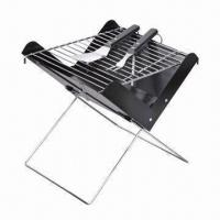 Quality Notebook BBQ Grill, Foldable, Powder Plastic Paint, Briefcase Look wholesale
