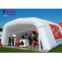 Quality White Inflatable Event Tent For Camping Yard Inflatable Caravan Awning wholesale