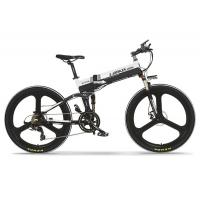 Quality 26 Inch Foldable Electric Mountain Bike 10AH L G Battery Aluminum Alloy Frame wholesale