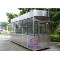 Quality 20 Year Lifetime Outdoor Ticket Booth /  Portable Guard Shacks Multi Color Available wholesale