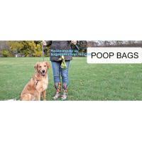 China 10 Rolls/150Pcs Plastic Pet Dog Waste Bags 33 * 22cm Durable Trash Cleaning Bag, cornstarch based compostable pet waste on sale