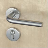 Quality Silver SUS304 Stainless Steel Escutcheon Lock Fire Proof For Residential wholesale