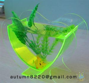 Quality FT (7)-2 Popular heart shaped acrylic fish tank wholesale