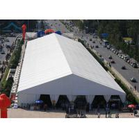 Quality A-Frame Large Exhibition Event Tents With Aluminum And PVC Tent Fabric, 20m * 30m Big Canopy wholesale
