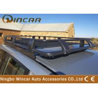 Quality Fully Enclosed Car Roof Luggage Rack Cage Deluxe Alloy With Brackets wholesale