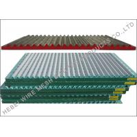 Quality SS304 / SS316 Material Shale Shaker Screen , Double / Triple Deck Vibrating Screen wholesale