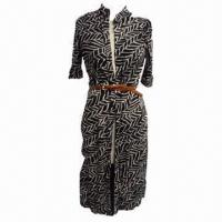 Quality Women's Dress, Made of 95% Viscose and 5% Spandex, Suitable for Women wholesale