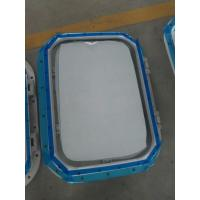 Quality Marine Bolted Type Installation Aluminum Wheel House Marine Windows For Ships wholesale