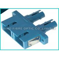 Quality Multimode SC to SC Adapter Hybrid Duplex Fiber Optic Connector Polymer Sleeve, wholesale