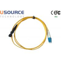Quality MTRJ to LC Singlemode Duplex Fiber Optical Patchcord in Telecommunication Equipment wholesale