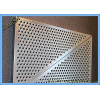 Quality Anti Skid 6061 Aluminum Perforated Metal Sheet Mesh / Low carbon Punch Steel Plate With Holes wholesale
