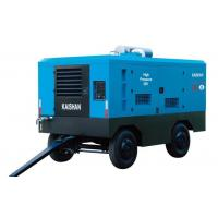 Quality Diesel Industrial Portable Air Compressor / Rock Drill Compressor Kaishan Lcgy wholesale