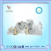 China Female lymphatic drainage and nipple breast pump enlargement breast growing cupping therapy cupping glass cups machine on sale