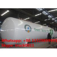 China factory price of lpg gas propane tank for sale, ASMEstandard highquality bulk lpg gas pressure vessel tank for sale on sale