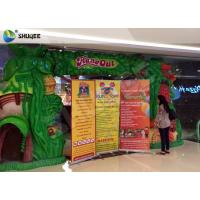 Quality Dinosaur Cabin 7d Simulator Cinema Pneumatic System 9 Seats With Dinosaur Poster wholesale