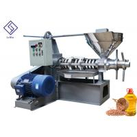 Quality Mustard Seeds Peanuts Cold Press Oil Extractor Spiral Oil Making Machine With Low Nosie wholesale