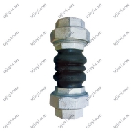 Quality Floating flange double spherical flexible bellow threaded rubber expansion joints wholesale