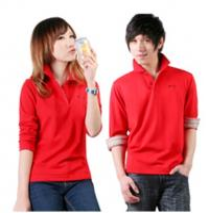 Quality EXPORT CUSTOM LOGO lovers long sleeve polyster T SHIRT 100%COTTON T-shirt wholesale