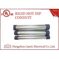 Buy cheap RGD Galvanized Rigid Steel Conduit , 1/2 Inch 4 inch Electrical Conduit Tubing product