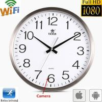 China Wifi Spy Camera Wall Clock Wireless Full Hd 1080P Hidden Video Recorder Spy Video Made in China on sale