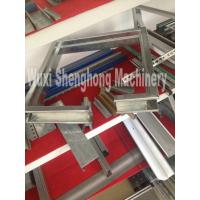 Quality Electric Controlled Window Frame Roll Forming Line With 380 mm coil width wholesale