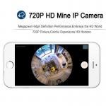 EC5 720P Fisheye Panorama WIFI P2P IP Camera IR Night Vision CCTV DVR Wireless