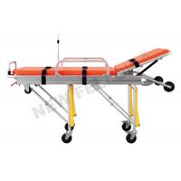 Quality Foldable Lightweight Basic Emergency Ambulance Stretcher Cot for hospital wholesale
