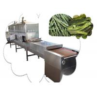 Quality Black Tea Drying Continuous Tunnel Dryer , Microwave Food Dehydration Machine wholesale