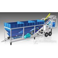 Buy cheap 25M3/H Modular Type Mobile Ready Mix Concrete Batching Plant Yhzd25 Small Concrete Mixing Station Yhzs25 from wholesalers