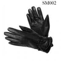 China Ladies sheep genuine leather gloves high quality at cheap price SM002 leather glove on sale