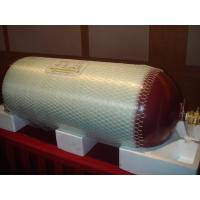 CNG Fuel Storage Natural Gas Vehicle Tank with Glass Fiber Wrap ISO11439 80L - 200L