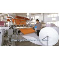 Quality 94 Inch Cam Model Lock Stitch Quilting Machine , 2.4 Meters Industrial Sewing Machine wholesale