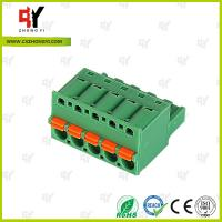 Cheap 10A - 15A Pluggable Terminal Block Universal Connector Wire Range 28-12 AWG for sale