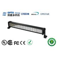 Quality 120 Watt Waterproof Cree LED Light Bars 9V - 30V For Off Road / Trucks Lighting wholesale
