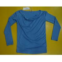 Quality Fitness Women'S Modal Tops , Fashion Women'S V Neck Long Sleeve T Shirts wholesale