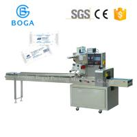Cheap Semi Auto Small Flow Wrapping Machine 3 Side Seal Napkin Facial Tissue Paper Packing for sale