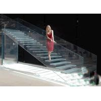 Quality Lowest Factory Price 8mm flat clear laminated safety glass for stairs / toughened glass wholesale