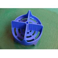 Quality Blue Plastic Injection Molded Parts Design ABS High speed Multi cavity wholesale