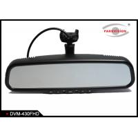 Quality HD 1080P Car DVR Mirror Monitor Black Box Auto Recording With Front View Camera wholesale