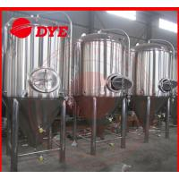 Cheap 7BBL Conical Beer Fermenter , Conical Stainless Steel Fermenter for sale