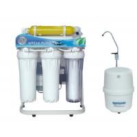 Cheap Under sink 5 stage Ro water filter purifier with stand&gauge for sale