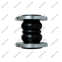 Quality DIN ANIS JIS SS304 flange type double sphere rubber expansion joint EPDM NR NBR rubber wholesale