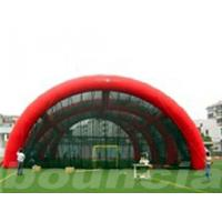 Quality 0.4mm PVC Tarpaulin Inflatable Paintball Arena / Inflatable Paintball Field wholesale