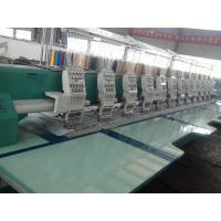 Quality High Precision 12 Head Flat Embroidery Machine With CE / ISO Certification wholesale