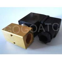 "Quality Normally Open Mini Water Solenoid Valve 2 - Port  2 - Position 3/8"" BSP 110V AC 4 mm NBR wholesale"