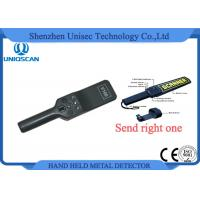 Quality 4 Level High Sensitivity Hand Held Metal Detector Portable ISO / CE Certificated wholesale
