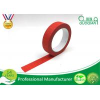 Quality Kids Craft Multi Pack Colored Masking Tape / 140 - 150mic Thickness Red Packing Tape wholesale