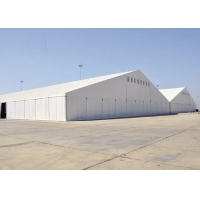 China 60x100m Aluminum Frame Waterproof Industrial Storage Tents on sale