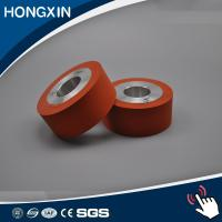 China High temperature hot stamping laminating silicone rubber roller on sale