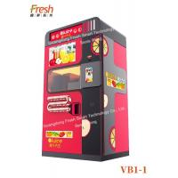 Quality professional juice extractor Fresh Orange Juice Squeezing Automatic Beverage Vending Machine with cleaning systems wholesale